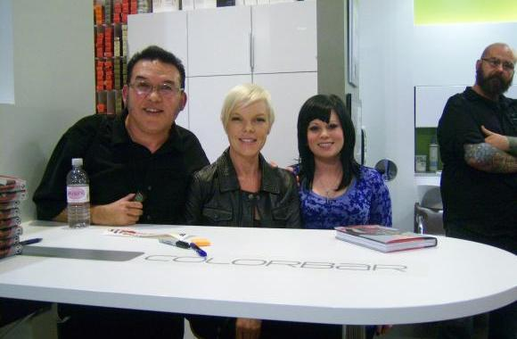 Come visit our site BeautyRadio.com Or Call 813-782-7821 From Left to right Deano Dotson Tabatha Coffey Felicia Richards