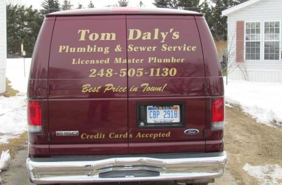 Tom Daly's Plumbing & Sewer Service