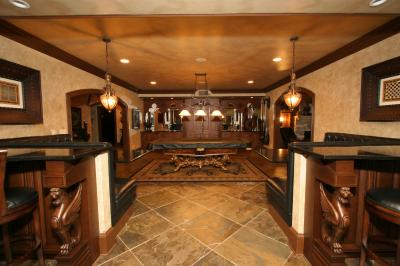 Custom home pictures of interiors