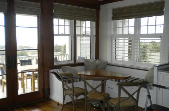 Plantation Shutters and Woven Wood Shades